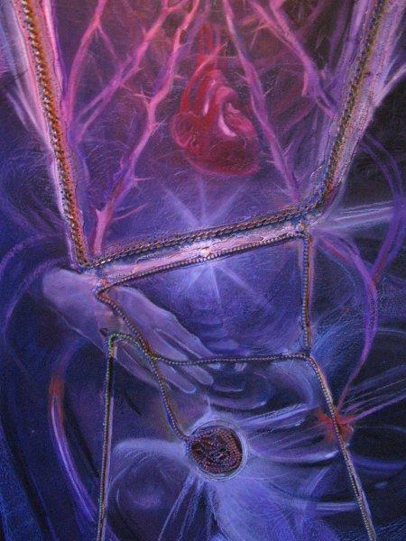 fragment-the-guitarist-2011 oil pastel