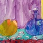 Watercolor- artist is 6 yaers old